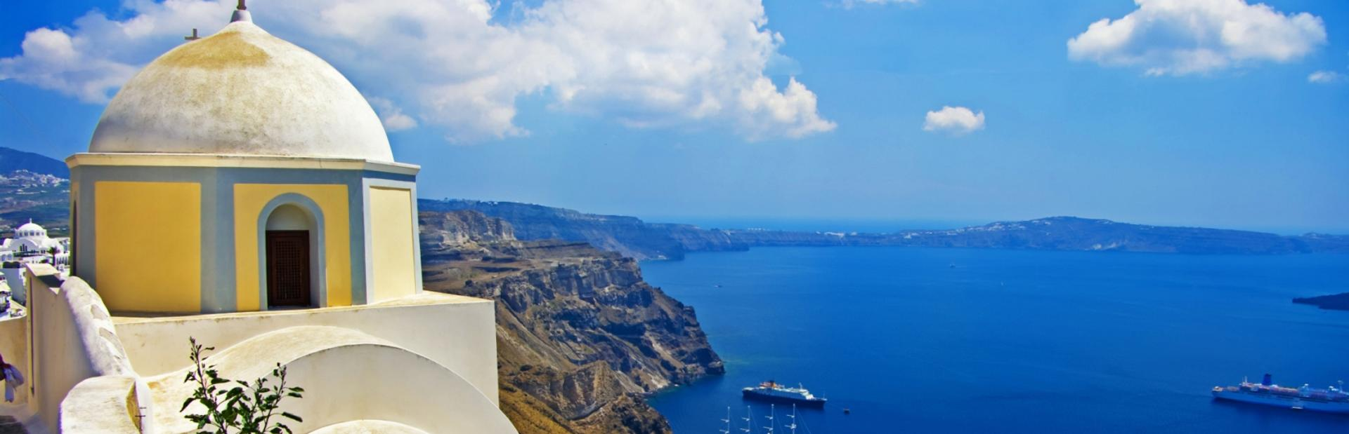 Cyclades Islands climate photo