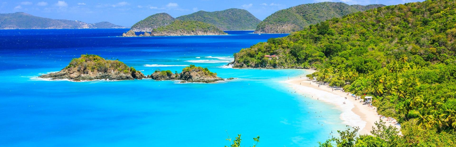 US Virgin Islands charter itineraries