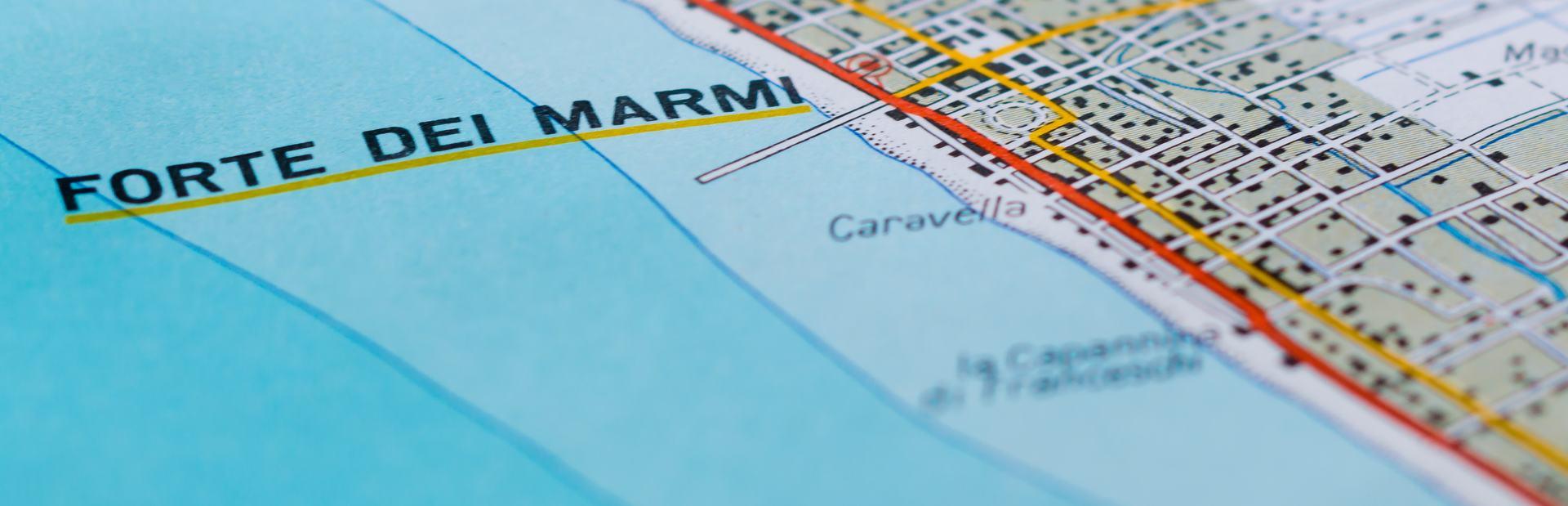 Forte dei Marmi interactive map