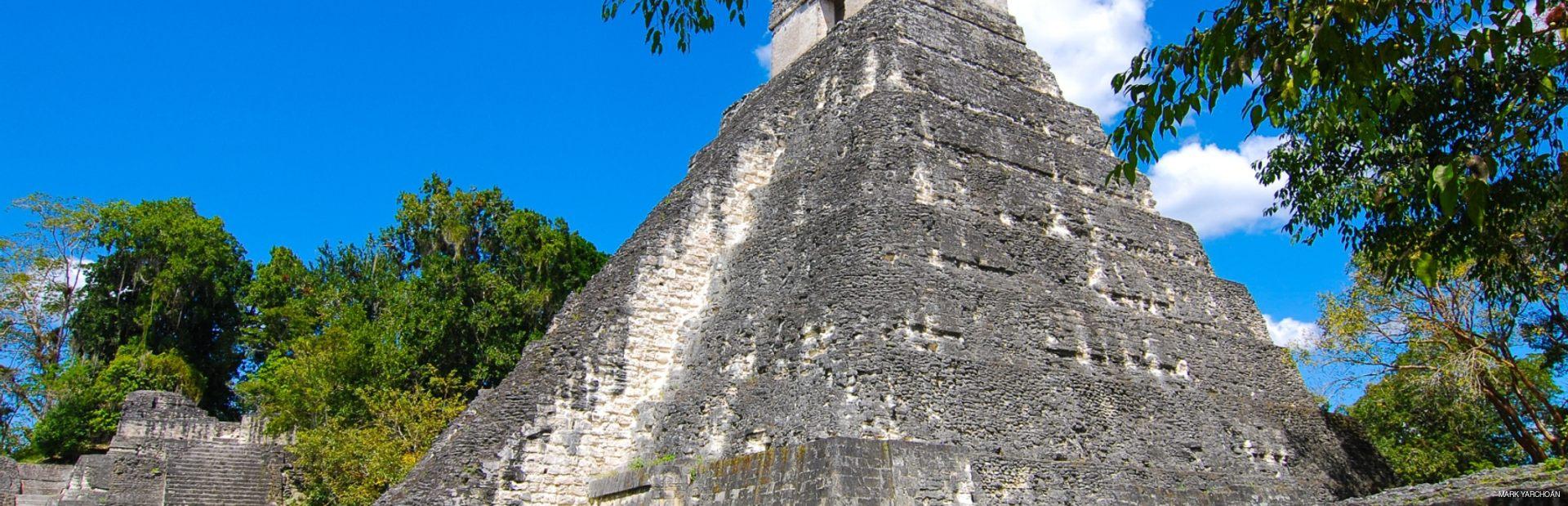 Archeological rocky building