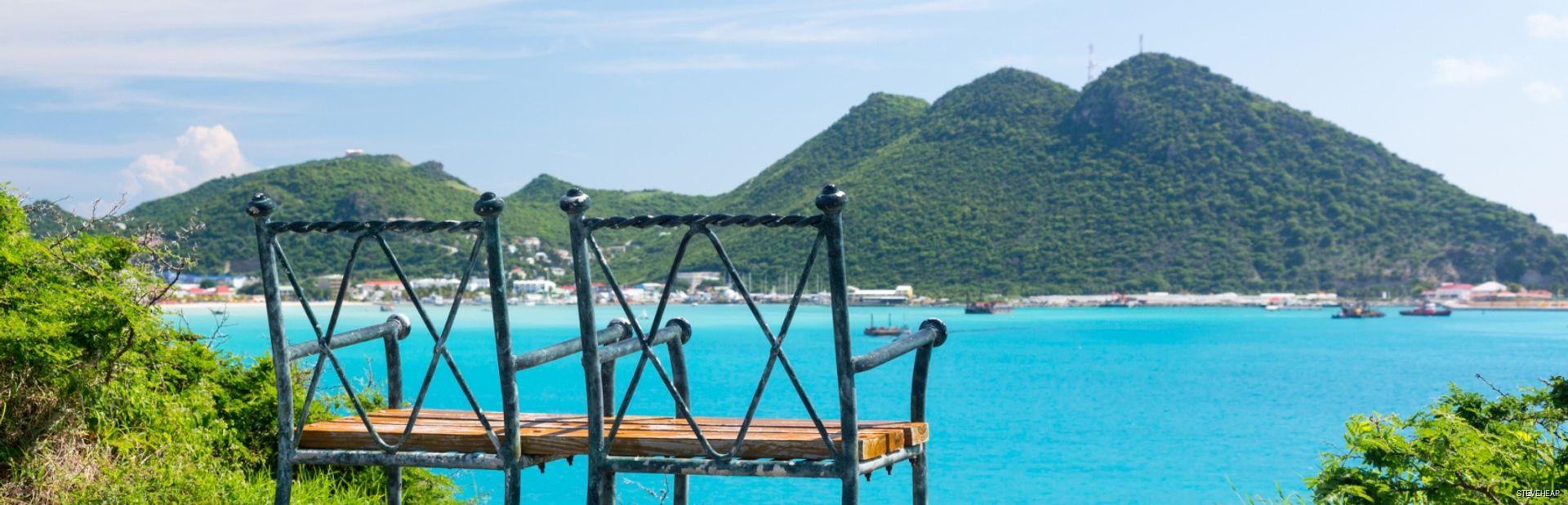 Overview of Philipsburg Sint Maarten