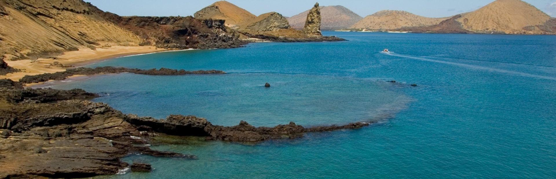 Galapagos Islands charter itineraries