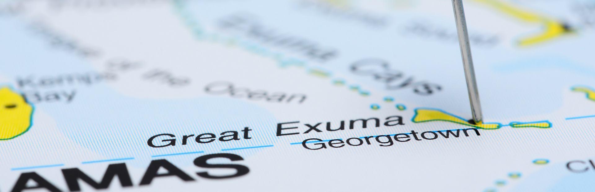 The Exumas interactive map