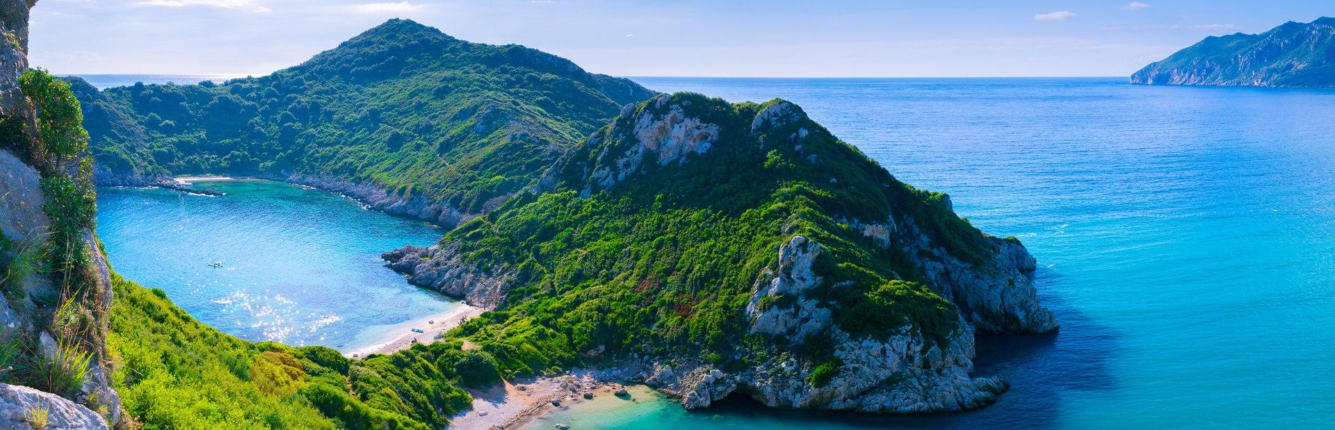Corfu charter itineraries