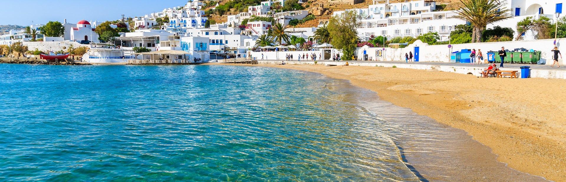 Mykonos charter itineraries