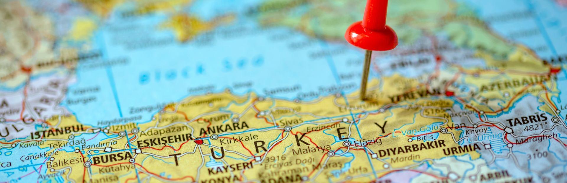 Turkey interactive map