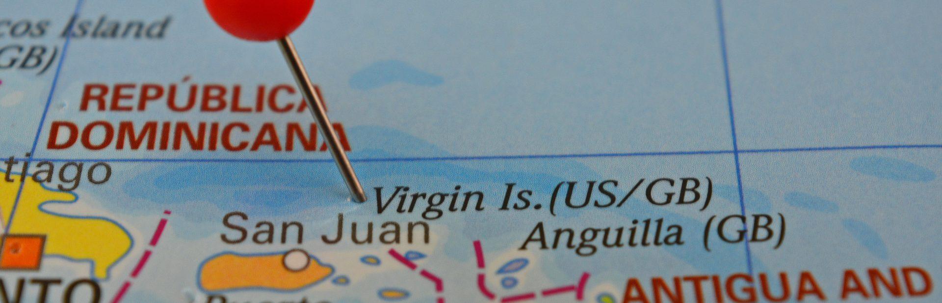 British Virgin Islands interactive map