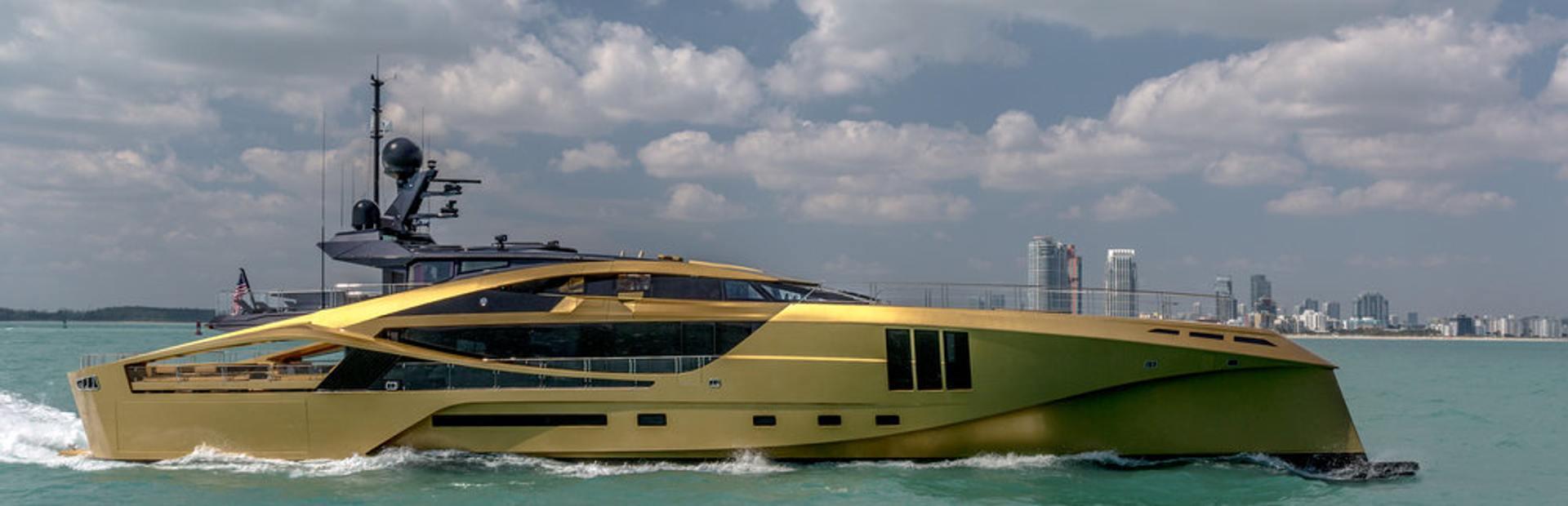 Palmer Johnson 48M SuperSport Yacht Charter