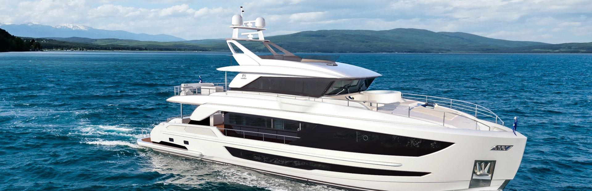 FD92 Tri deck Yacht Charter