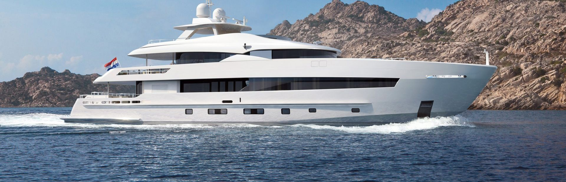 42m Steel Yacht Charter
