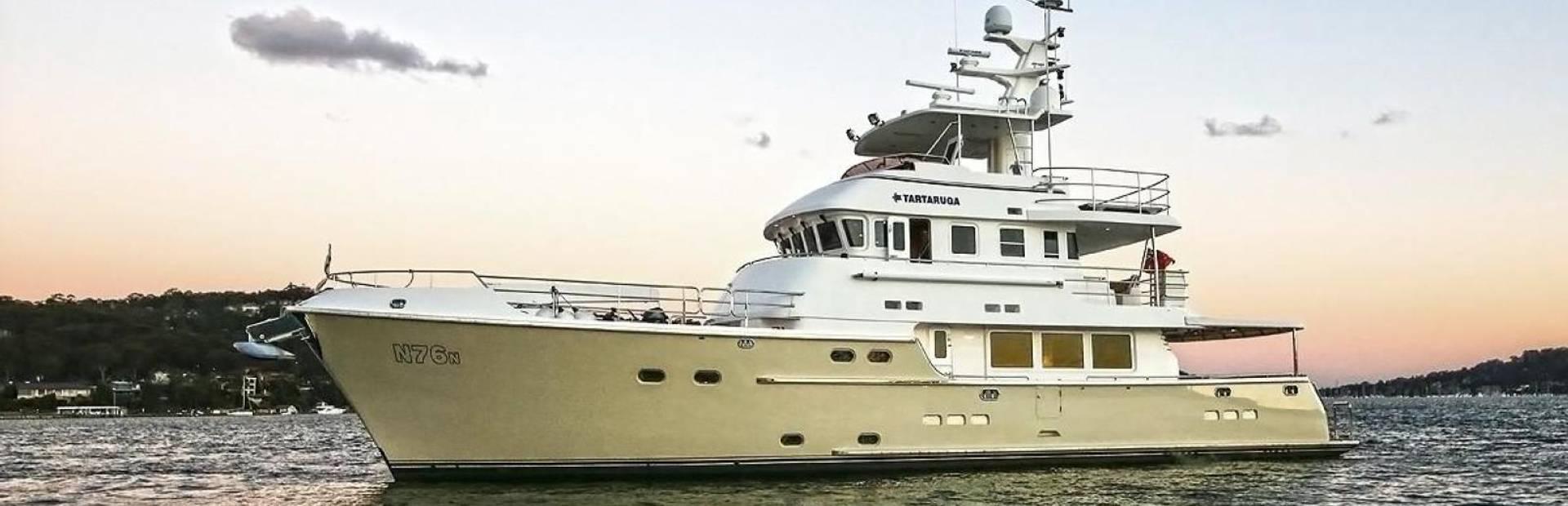 Nordhavn 76 Yacht Charter