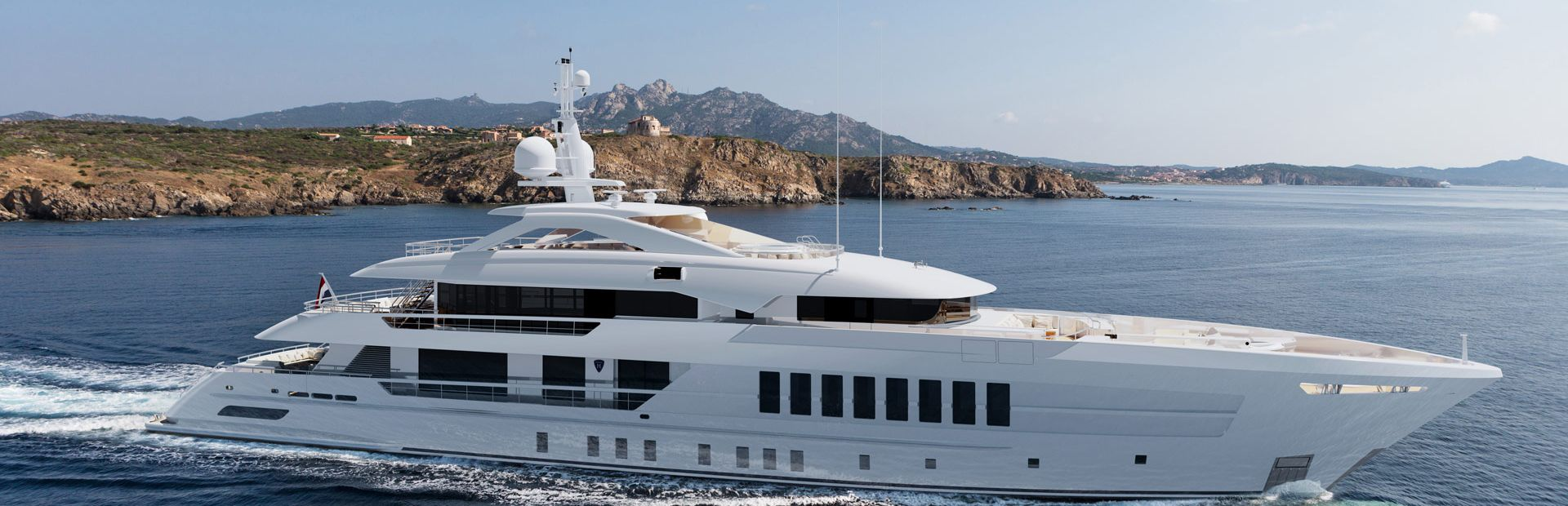 55m Steel Yacht Charter