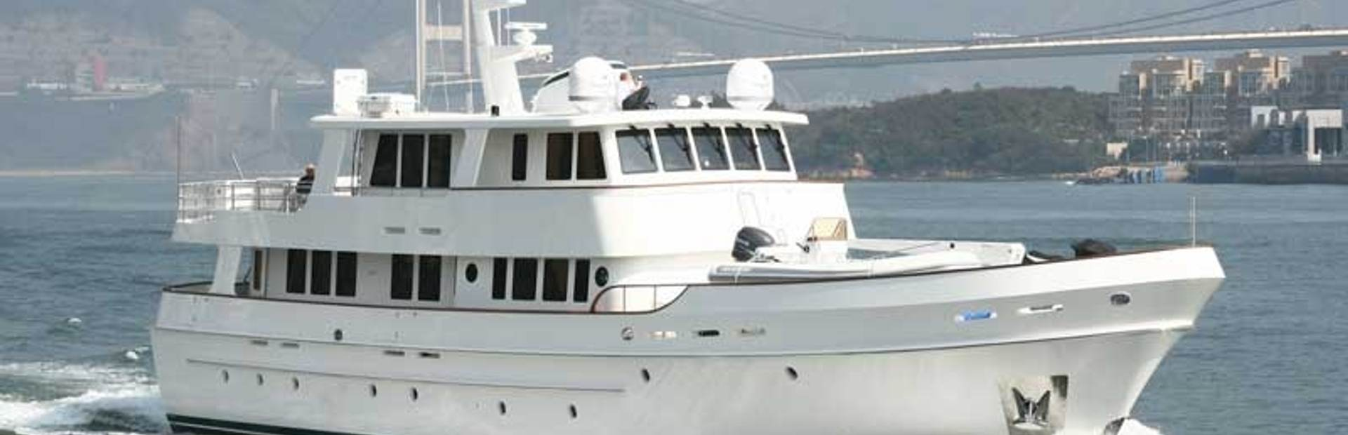 Cheoy Lee Serenity 90 Expedition Yacht Charter