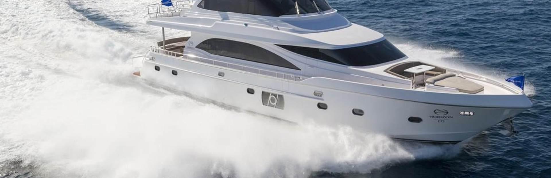 E75 Yacht Charter