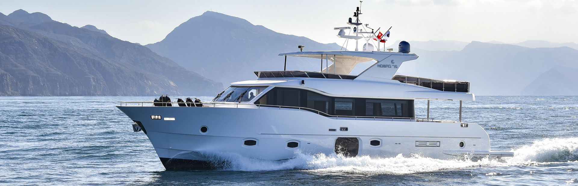 Nomad 75 Yacht Charter
