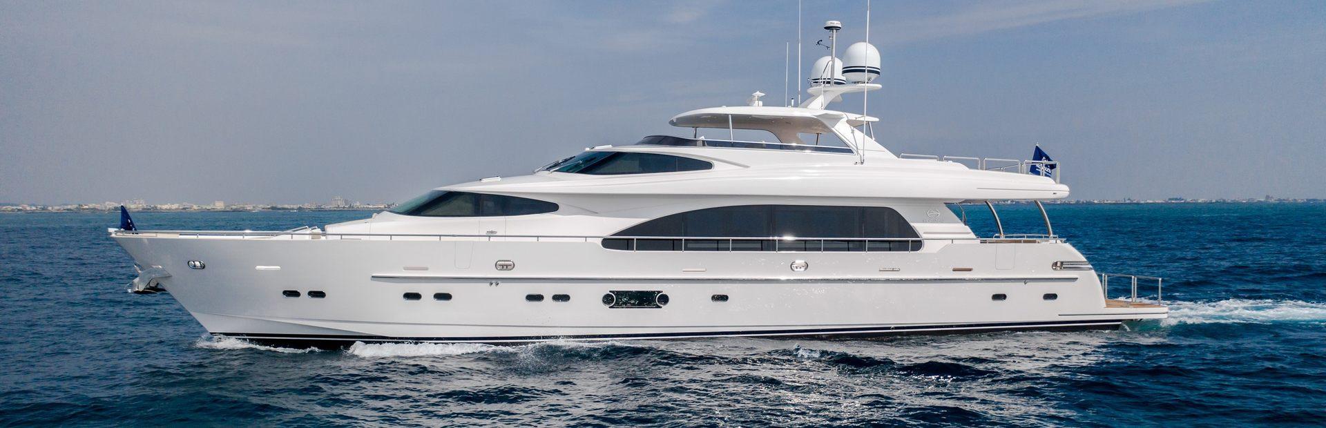 RP97 Yacht Charter