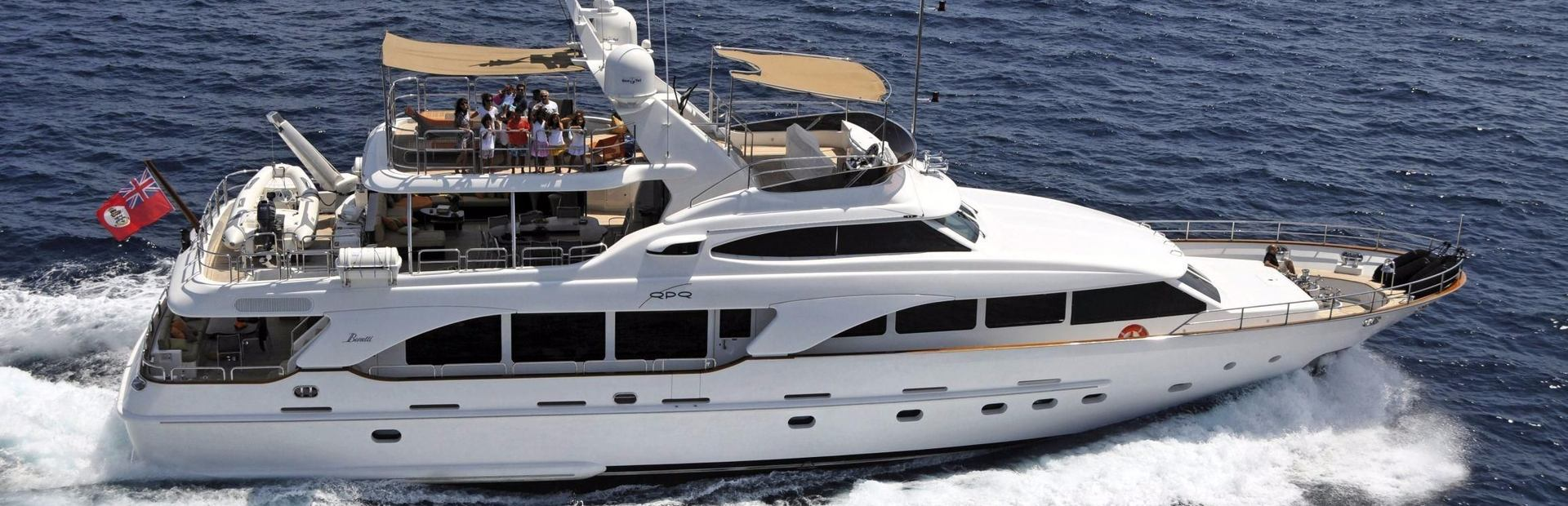 Benetti Tradition 100' Yacht Charter