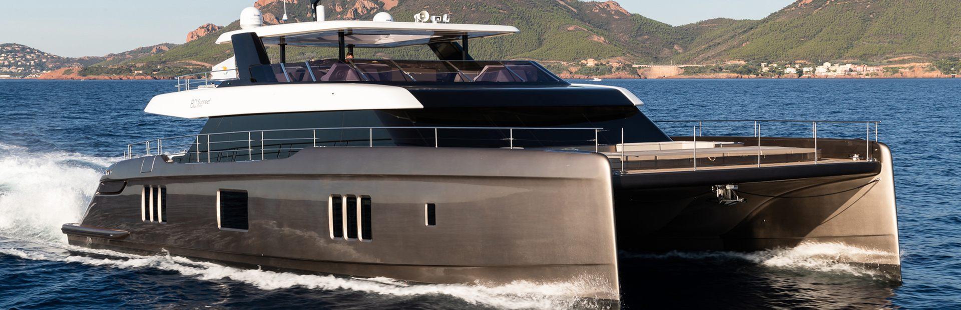 80 Sunreef Power Yacht Charter