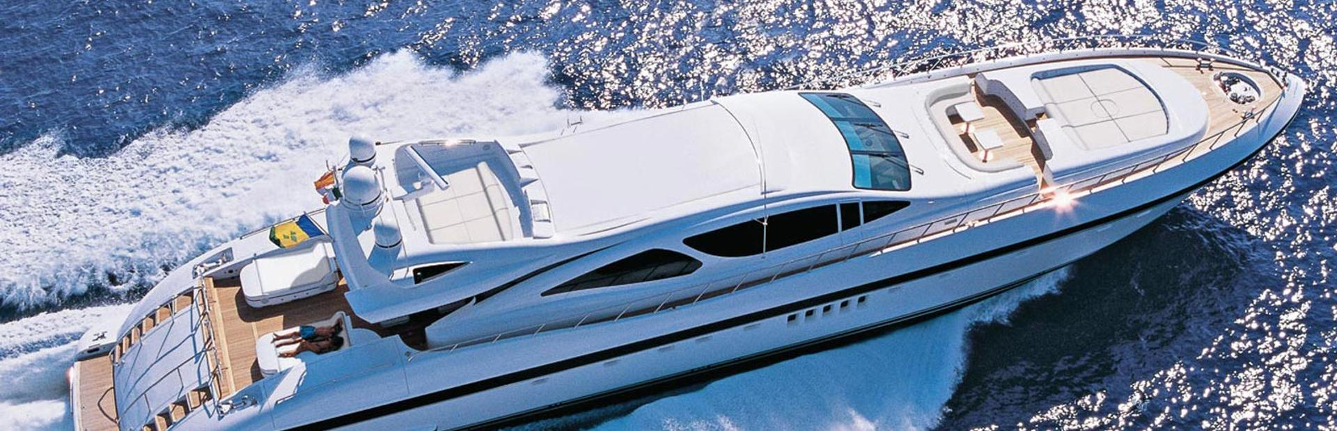 Mangusta 130 Yacht Charter
