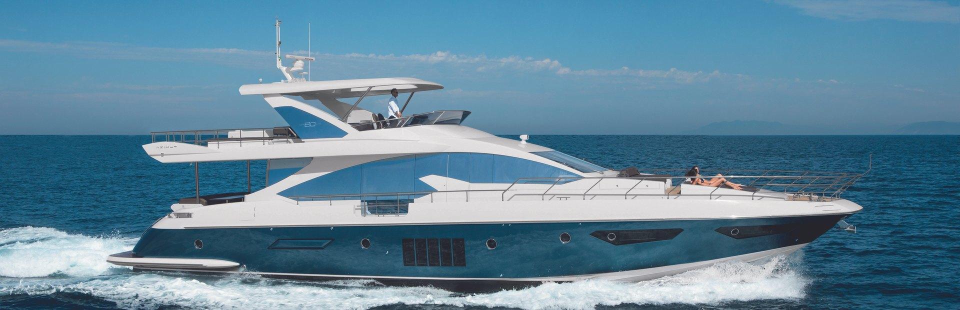 Azimut 80 Yacht Charter
