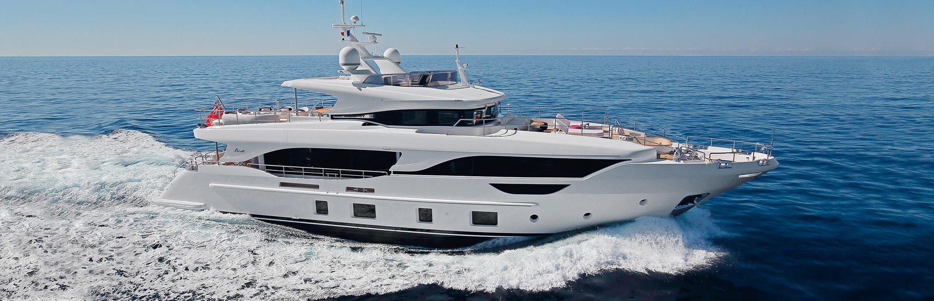 Delfino 95 Yacht Charter