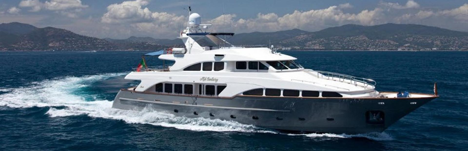 Classic 115' Yacht Charter