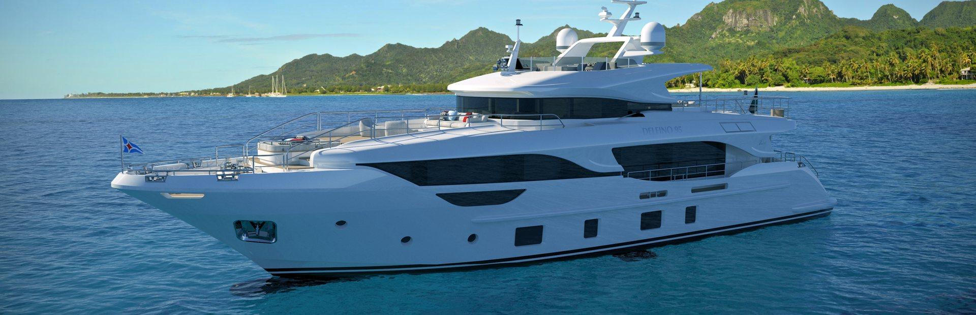 Benetti Delfino 95 Yacht Charter