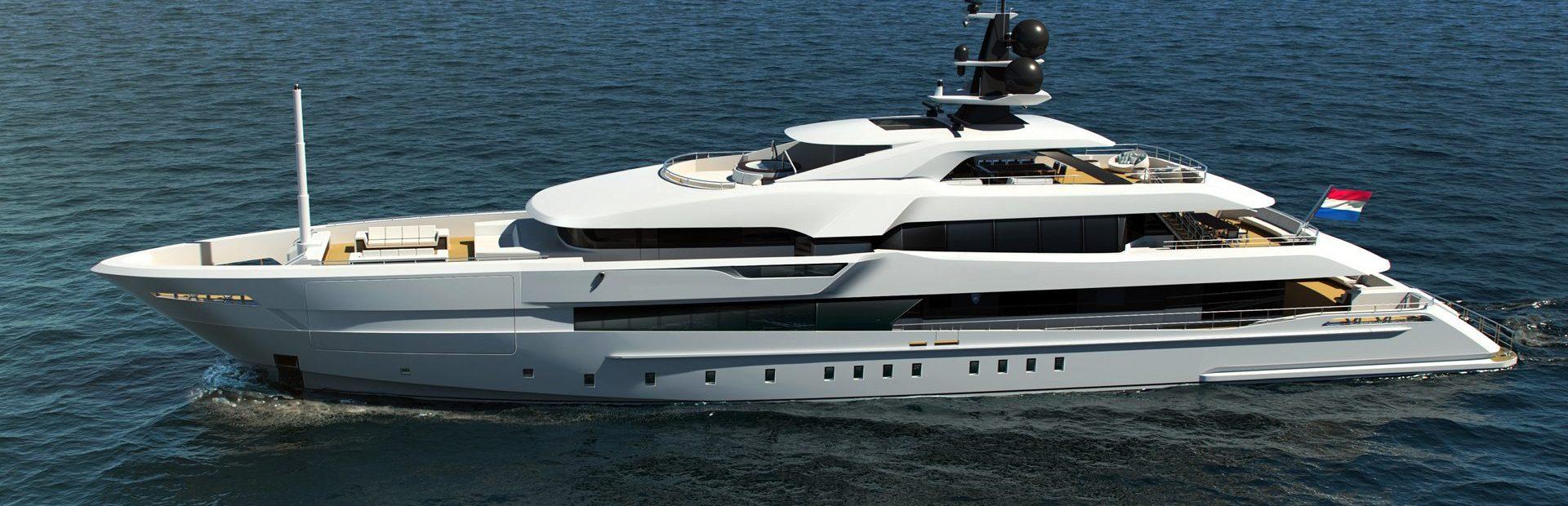 60m Steel Yacht Charter