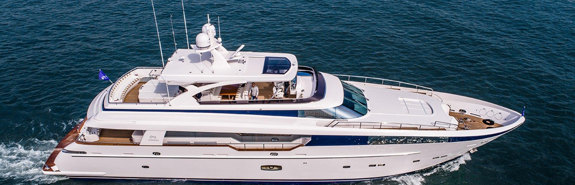 CC110 Yacht Charter