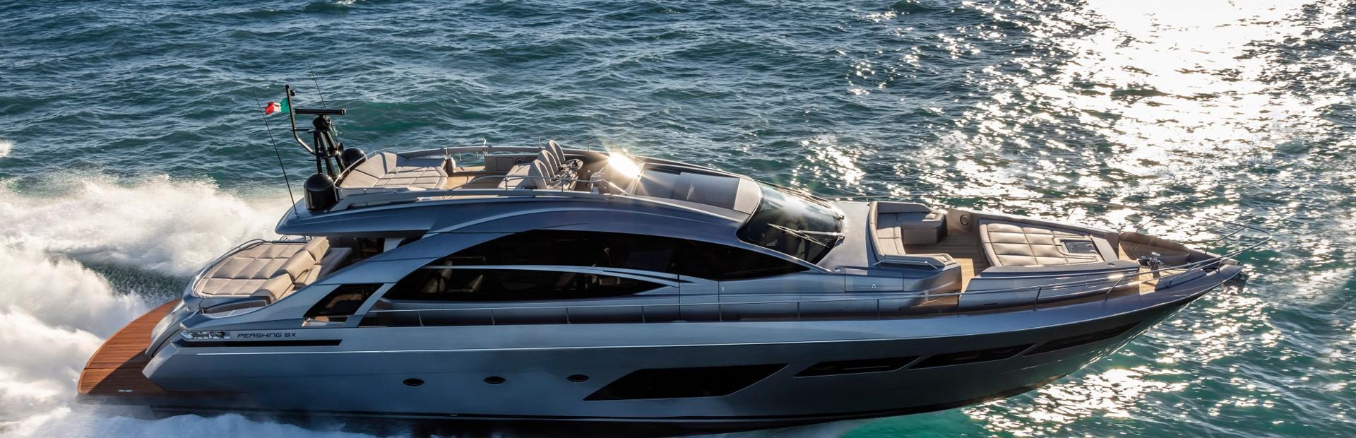 Pershing 8X Yacht Charter
