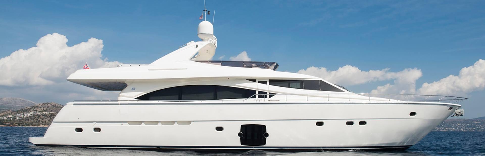 Ferretti Yachts 830 Yacht Charter