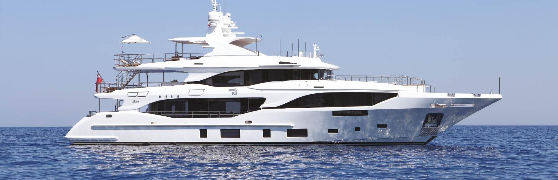Mediterraneo 116 Yacht Charter