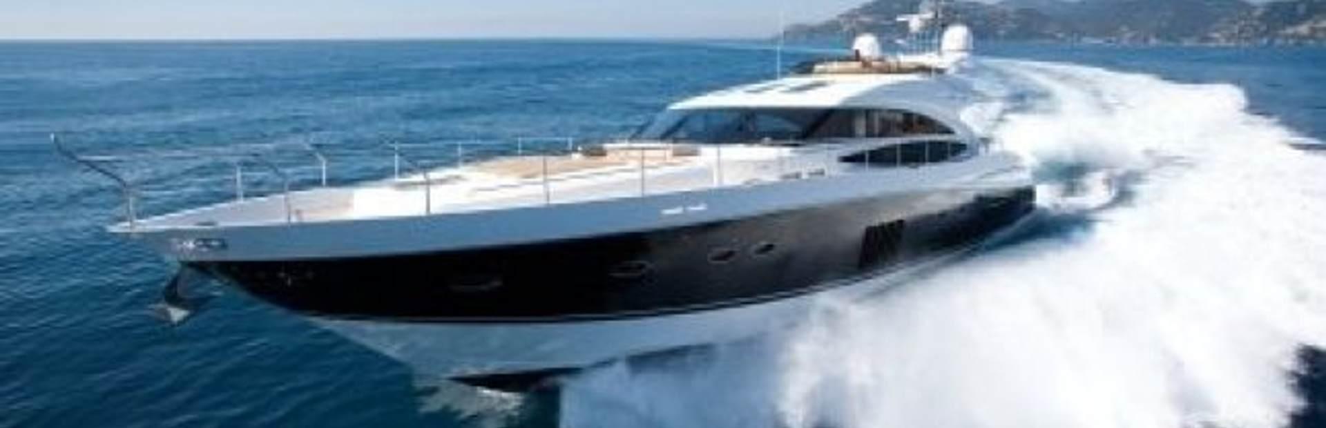 Princess V85 Yacht Charter