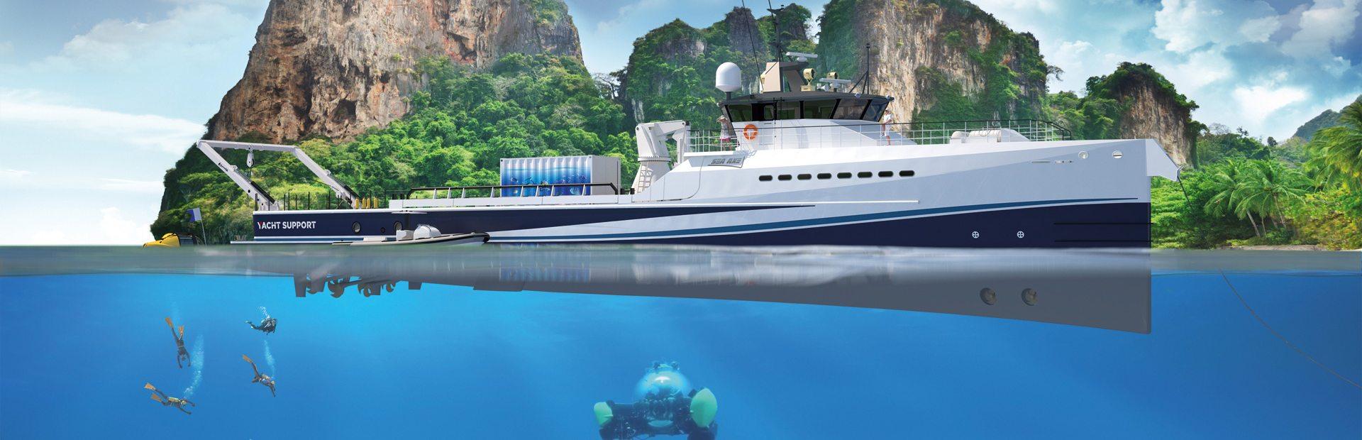 Damen YS 5009 Yacht Charter
