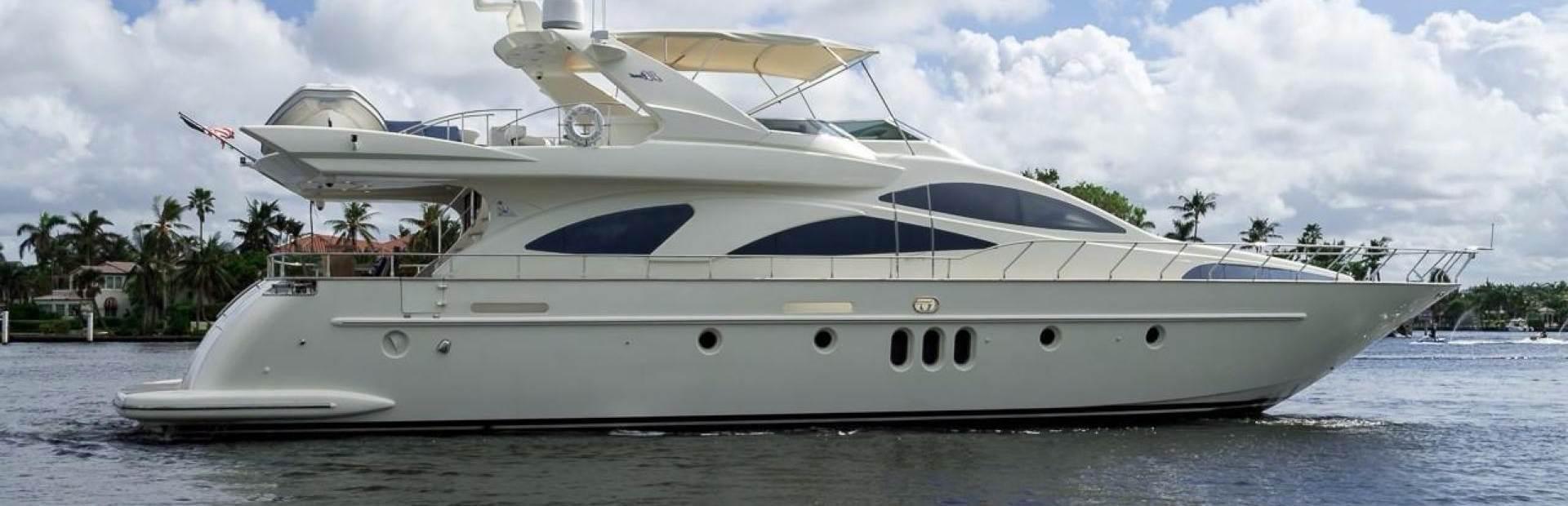 Azimut 80 Carat Yacht Charter