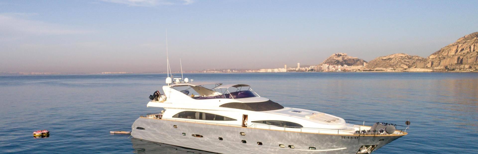 96 GLX Yacht Charter