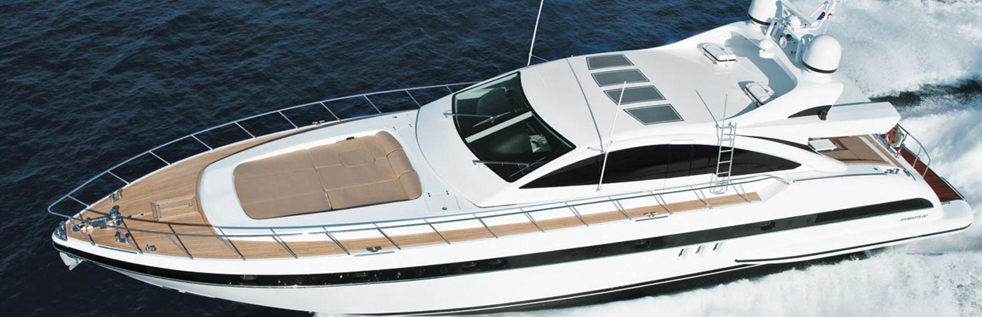 Mangusta 80 Open HT Yacht Charter