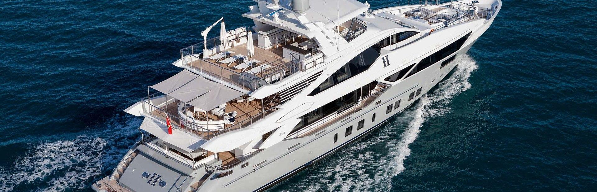 Veloce 140' Yacht Charter
