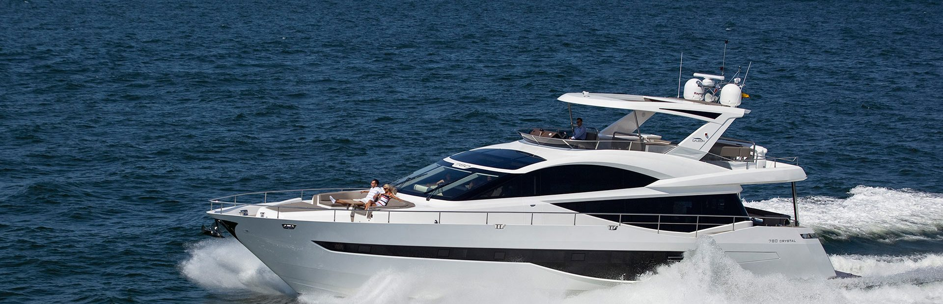780 Crystal Yacht Charter