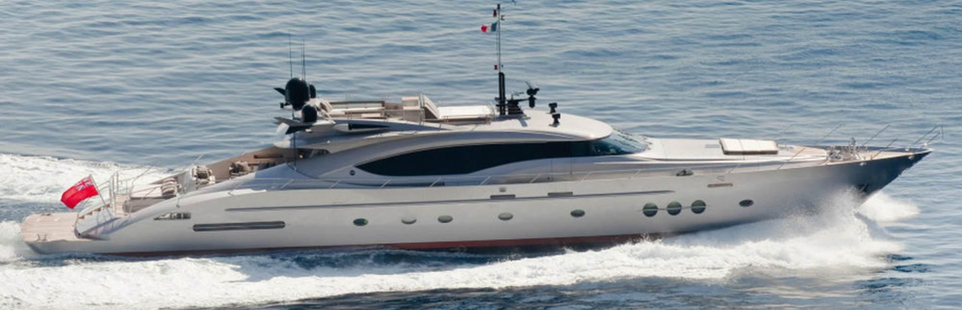 Palmer Johnson 'PJ 120' Yacht Charter