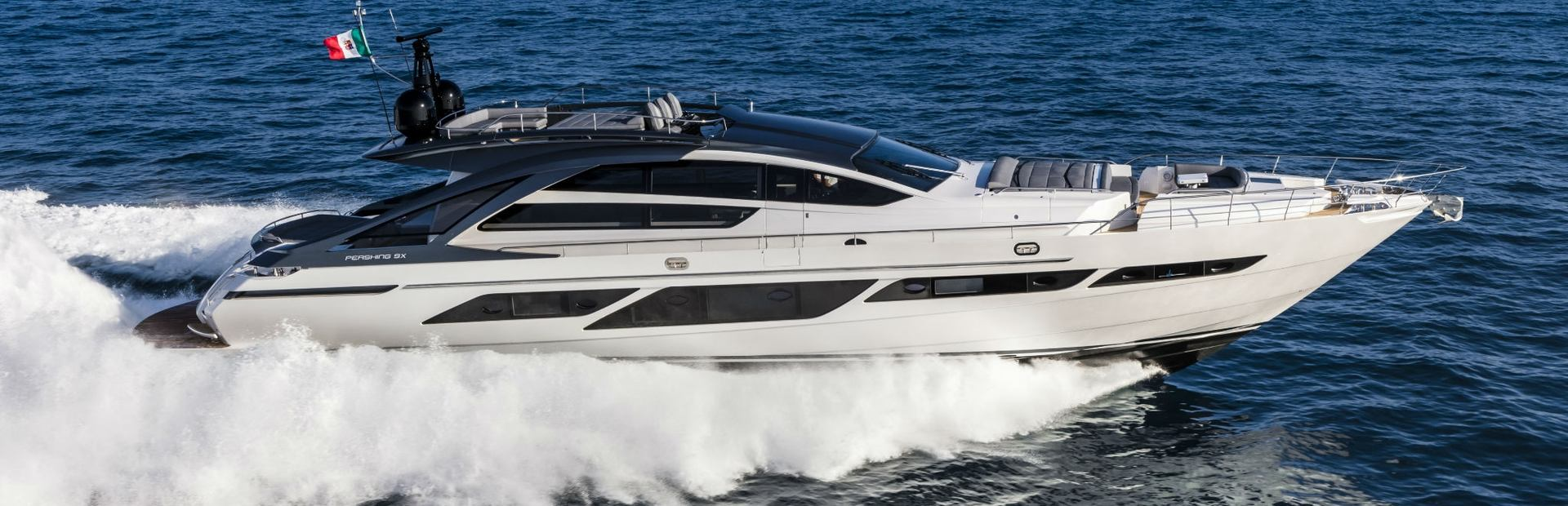 Pershing 9X Yacht Charter