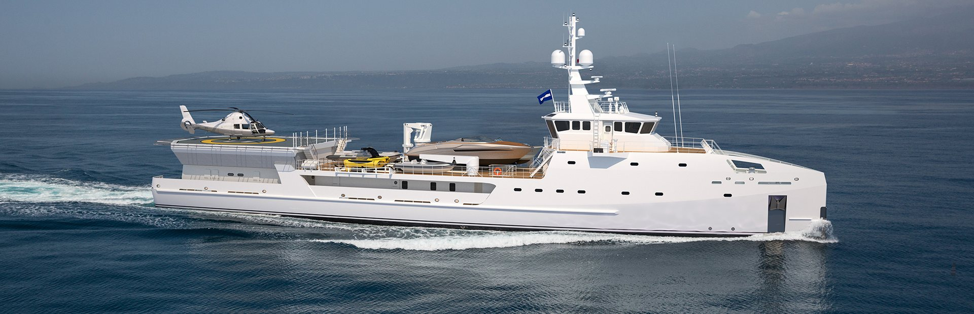 Damen YS 6911 Yacht Charter