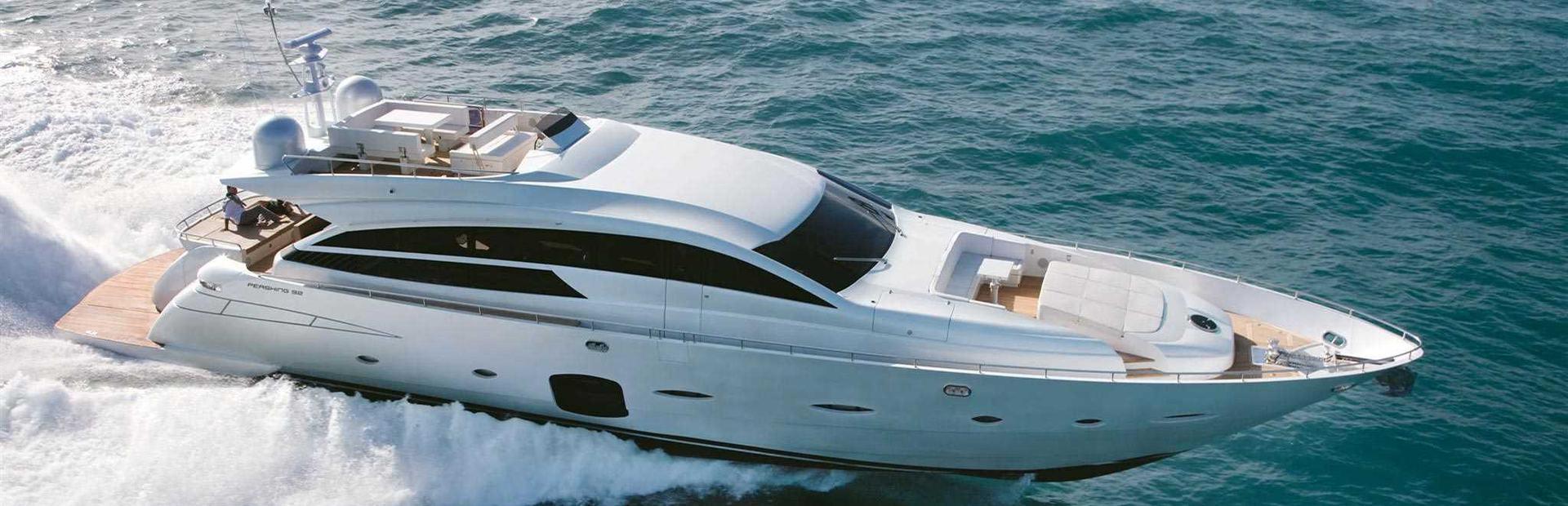 Pershing 92 Yacht Charter