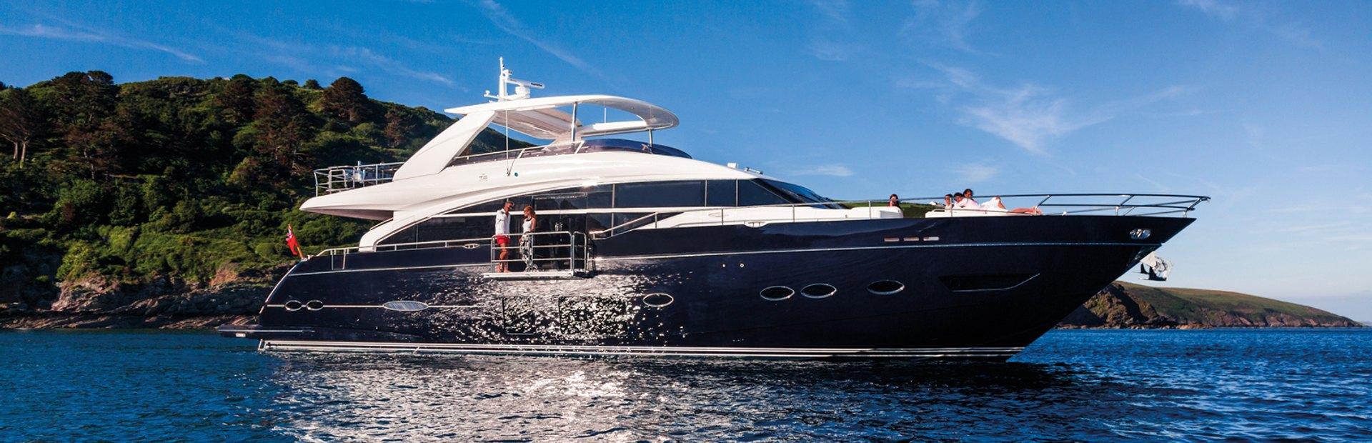 Princess Y88 Yacht Charter