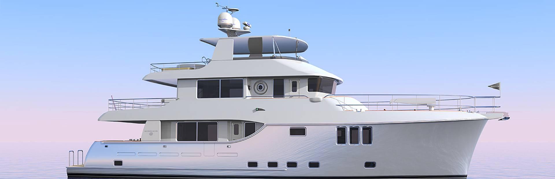 Nordhavn 80 Yacht Charter