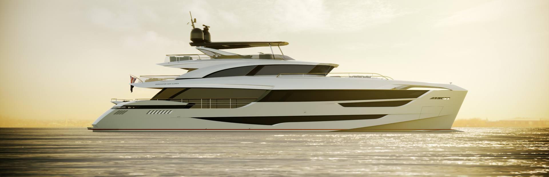 Dominator 42M Ilumen FD Yacht Charter