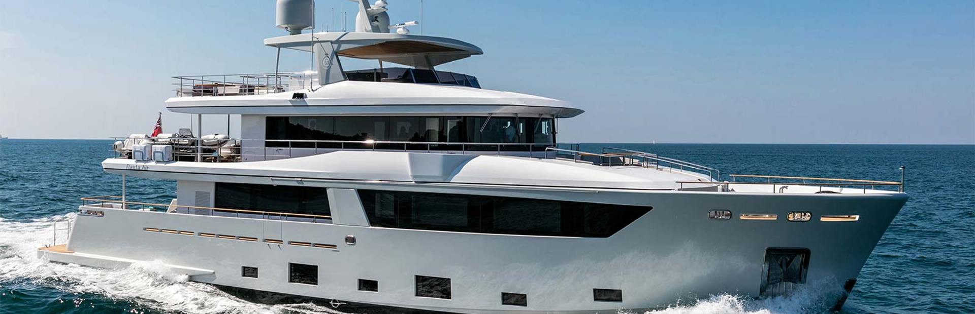 Cantiere Delle Marche Nauta Air 108 Yacht Charter