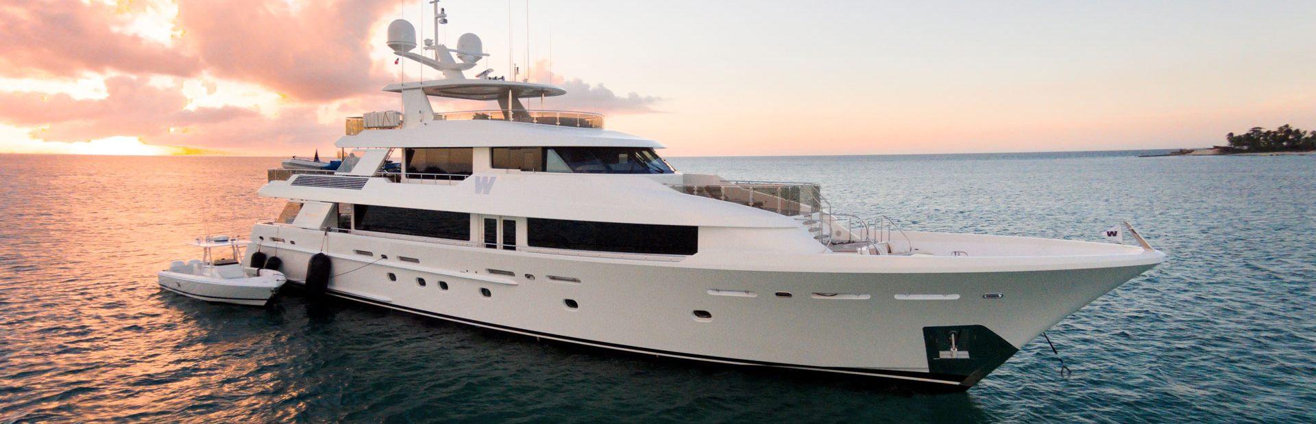 Westport 130 Yacht Charter