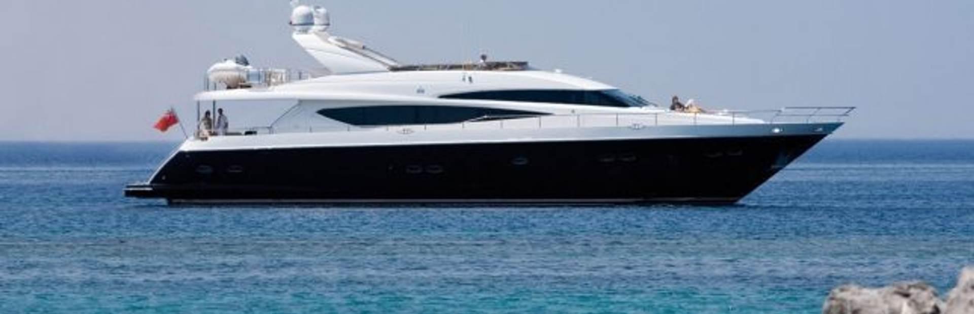 Princess 95 Motor Yacht Yacht Charter