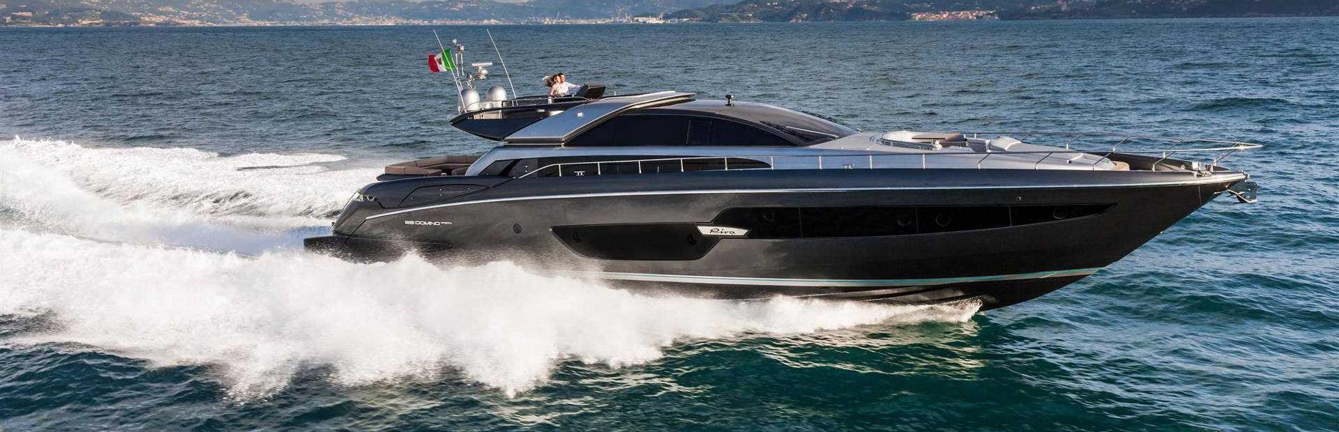 88' Domino Super Yacht Charter